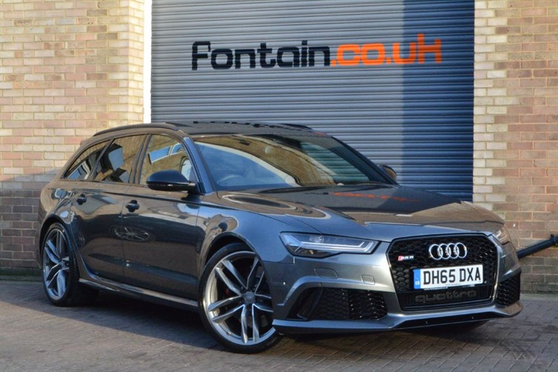 used Audi RS6 Avant TFSI quattro 560PS. Pan roof, Air suspension, 21s in buckinghamshire