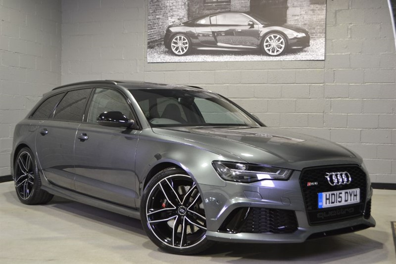 used Audi RS6 Avant TFSI quattro 560PS. Pan roof, Top view, 21s + more... in buckinghamshire
