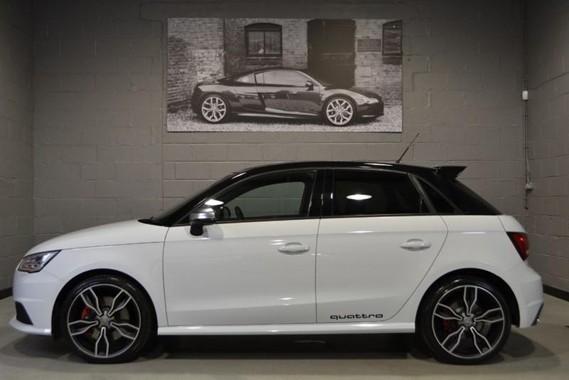 used Audi S1 Sportback TFSI quattro 231. Nav, 18s, Contrast roofline, Folding mirrors in buckinghamshire
