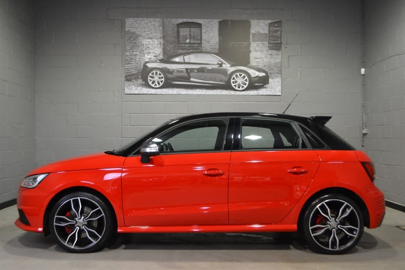 used Audi S1 Sportback TFSI quattro 231PS. quattro styling package in buckinghamshire