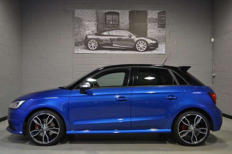 used Audi S1 Sportback TFSI quattro 231. Virtually every factory extra! in buckinghamshire