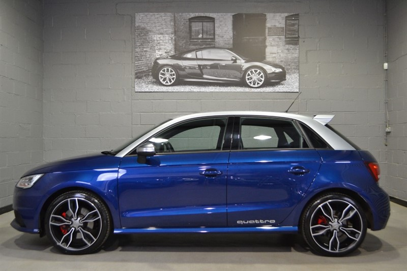 used Audi S1 Sportback quattro TFSI, Massive Spec, Super sport Seats,Both Styling Packs! in buckinghamshire