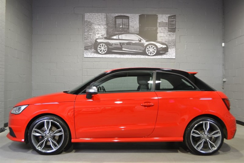 used Audi S1 TFSI quattro 231PS. Keyless, 18s, Folding mirrors in buckinghamshire