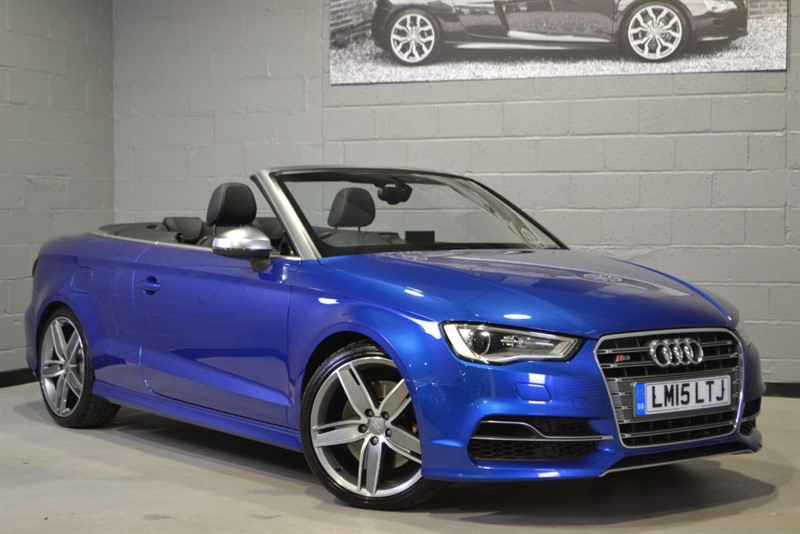 used Audi S3 Cabriolet 2.0 TFSI quattro 300PS. Nav, 19s, superb! in buckinghamshire