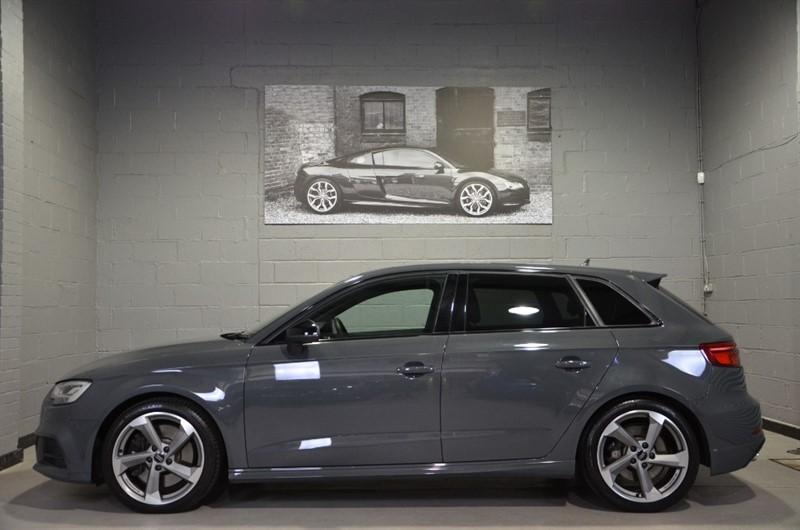 used Audi S3 Sportback TFSI quattro Black Edition 310PS. Virtual cockpit, Bang & Olufsen in buckinghamshire