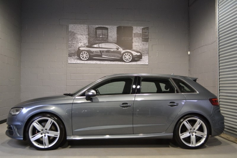 used Audi S3 Sportback TFSI quattro 300PS. Mag ride, 19s, LED headlamps in buckinghamshire