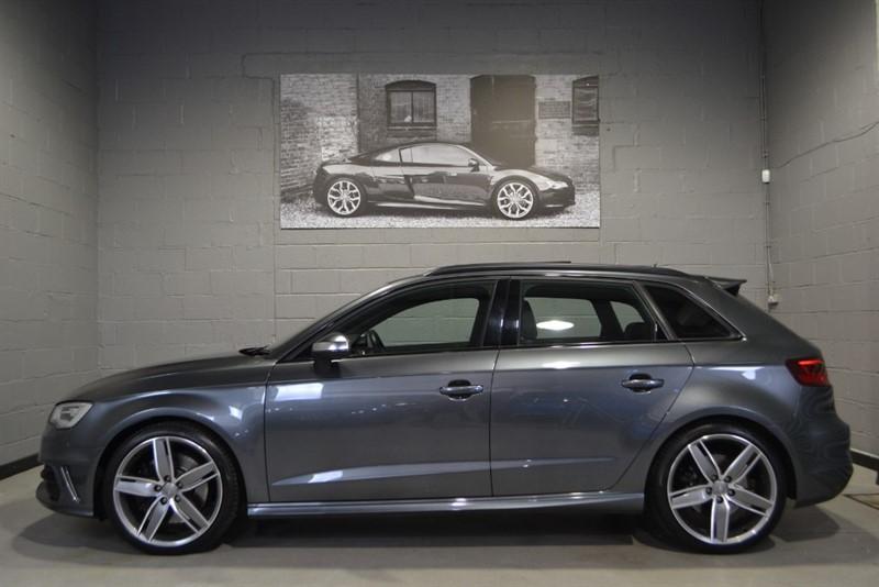 used Audi S3 Sportback TFSI quattro 300PS. Great spec & wonderful colour combo in buckinghamshire