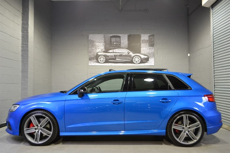 used Audi S3 Sportback TFSI quattro Black Edition. Huge spec, loaded with extras in buckinghamshire