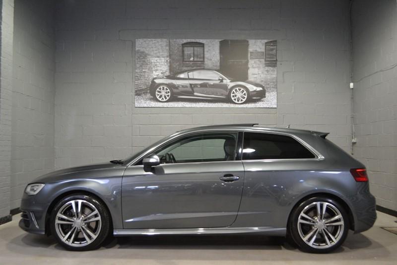 used Audi S3 TFSI quattro 300PS. Rare panoramic roof, MMI navigation plus in buckinghamshire