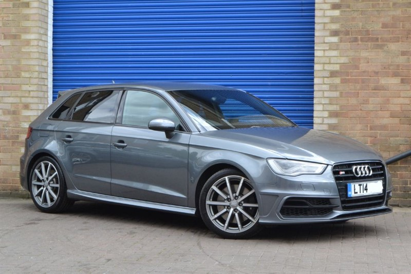 used Audi S3 Sportback TFSI quattro 300PS. LED headlamps, B&O, Nav+ in buckinghamshire