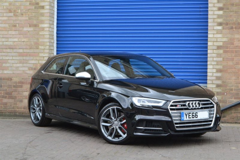 used Audi S3 TFSI quattro 310 PS Facelift. Virtual cockpit, B&O, Supersport seats in buckinghamshire