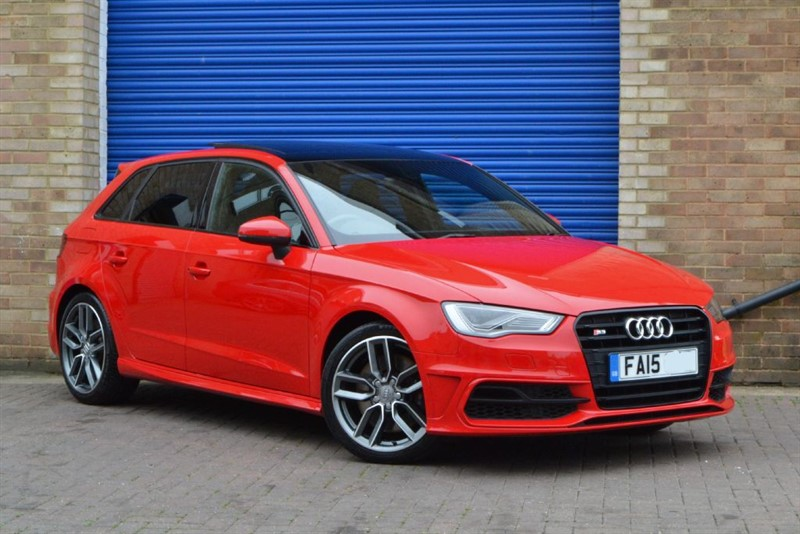used Audi S3 Sportback TFSI quattro 300PS. Panroof, LED headlamps, Supersport seats in buckinghamshire