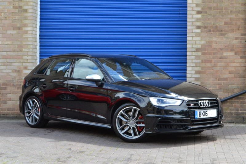 used Audi S3 Sportback TFSI quattro 300PS. Black styling, B&O, MMI Nav in buckinghamshire