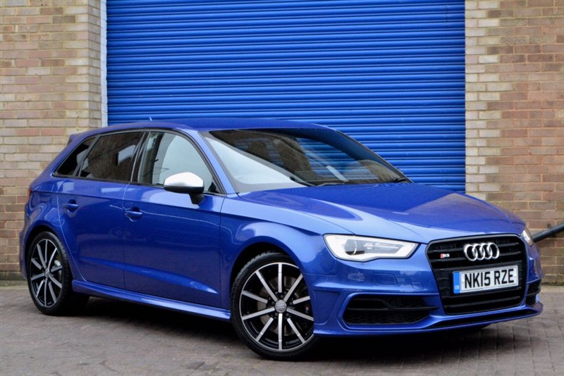 used Audi S3 Sportback TFSI quattro. Supersport seats, Quilted leather, Black styling in buckinghamshire