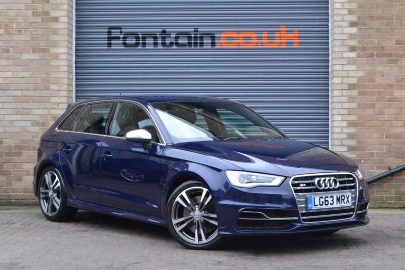 used Audi S3 Sportback TFSI quattro 300PS. Nav+, Park+, stereo upgrade in buckinghamshire