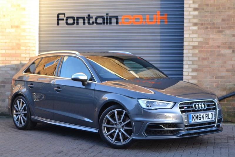 used Audi S3 Sportback TFSI quattro. Super sport seats, MMI Nav+ in buckinghamshire