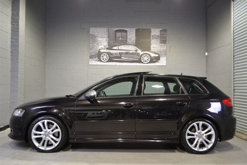 used Audi S3 Sportback TFSI quattro 265PS. Pan roof DVD nav in buckinghamshire