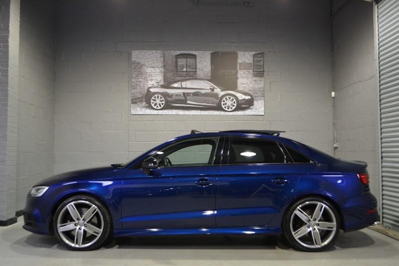 used Audi S3 saloon TFSI quattro Black Edition 310PS. Pan roof, Virtual cockpit in buckinghamshire
