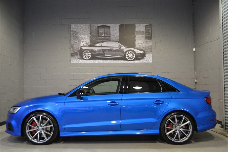 used Audi S3 Saloon TFSI quattro Black Edition 310. Fantastic specification! in buckinghamshire