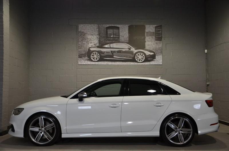 used Audi S3 Saloon TFSI quattro 300PS. Super sport seats, LED headlamps in buckinghamshire