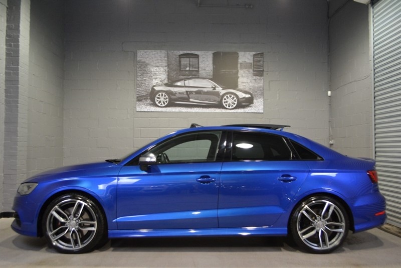 used Audi S3 Saloon TFSI quattro 300PS. B+O, Pan roof, Nav+ in buckinghamshire