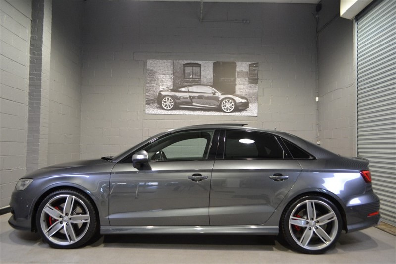 used Audi S3 saloon TFSI quattro 300PS. Monster spec, Sunroof, B&O, & lots more! in buckinghamshire