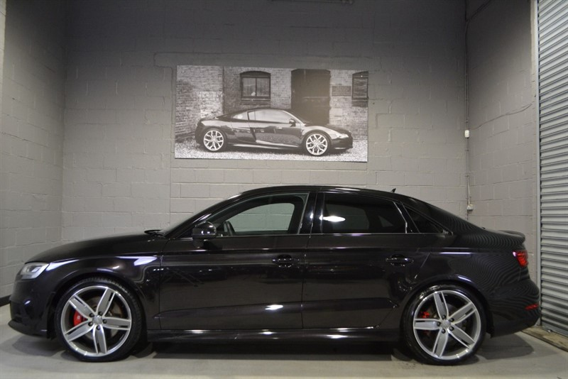 used Audi S3 saloon TFSI quattro Black Edition 310PS. Virtual Cockpit, Super sport seats in buckinghamshire