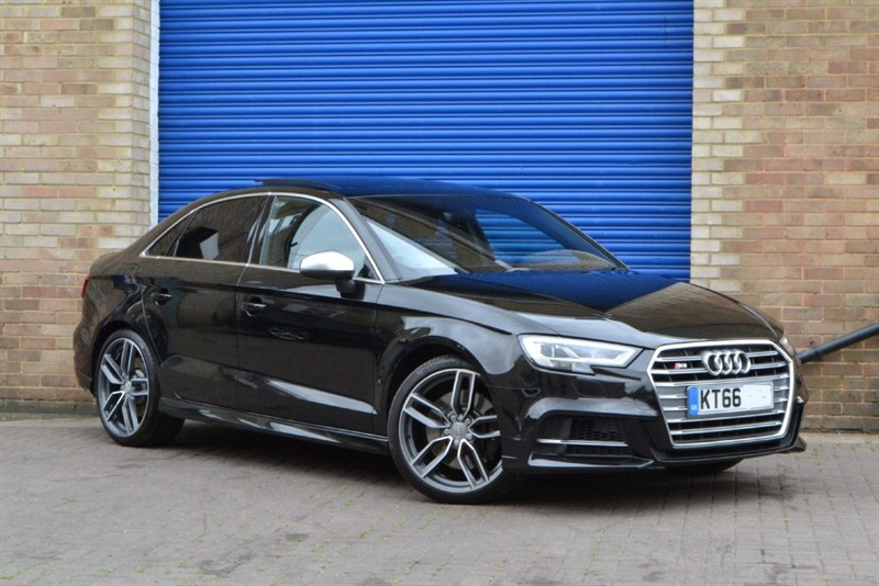 used Audi S3 Saloon TFSI quattro 310PS facelift. Pan roof, Virtual cockpit in buckinghamshire