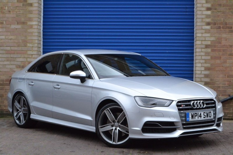 used Audi S3 Saloon TFSI quattro 300PS. Supersport seats, B&O, LED headlamps in buckinghamshire