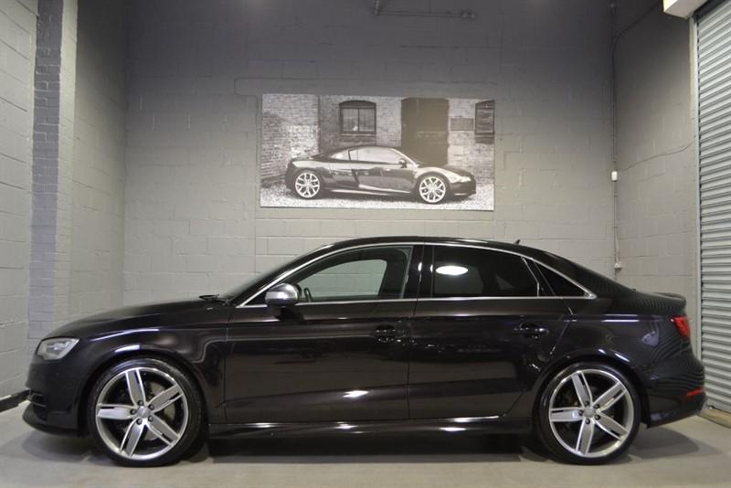 used Audi S3 Saloon TFSI quattro 300PS. B+O Nav+ 19s in buckinghamshire