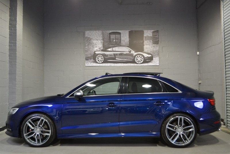 used Audi S3 Saloon TFSI quattro 310PS. Pan roof, Bang and Olufsen, Virtual cockpit in buckinghamshire