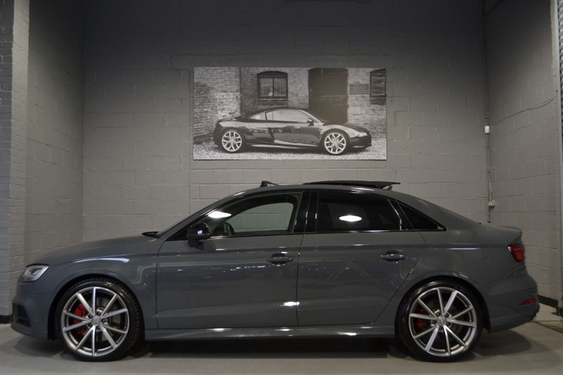 used Audi S3 saloon TFSI 310 quattro Black Edition. Pan roof, V Cockpit, Loaded! in buckinghamshire