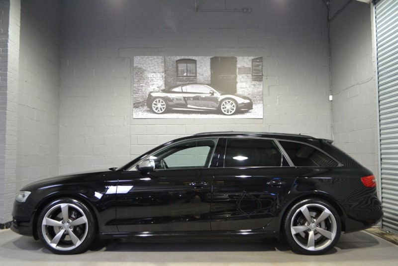 used Audi S4 Avant Avant TFSI quattro Black Edition 333PS. The holy trinity, absolutely awesome! in buckinghamshire
