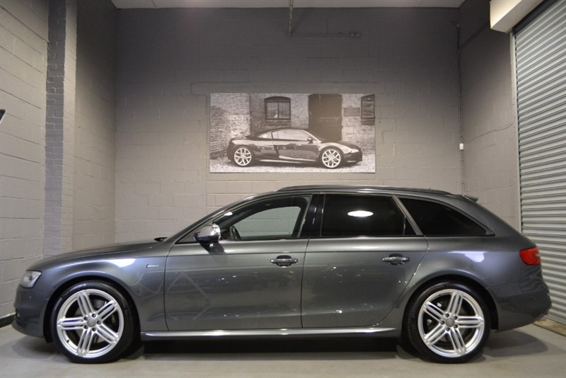 used Audi S4 Avant TFSI quattro Black Edition 333PS, quattro Sport Diff, Damping Control! in buckinghamshire