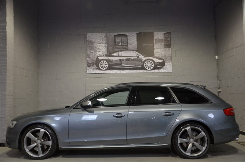 used Audi S4 Avant TFSI quattro Black Edition 333ps. Super Sport seats, Navigation+ in buckinghamshire