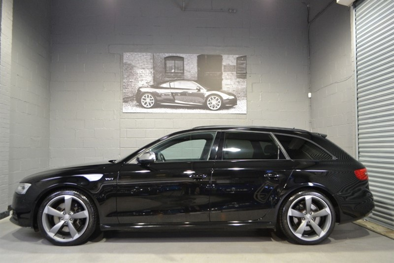 used Audi S4 Avant TFSI quattro 333PS Black Edition. Nav+, B&O, Heated seats in buckinghamshire