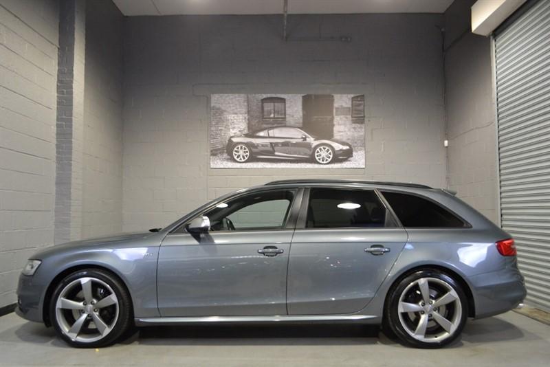 used Audi S4 Avant TFSI quattro Black Edition 333. Super Sport seats, Nav+ in buckinghamshire
