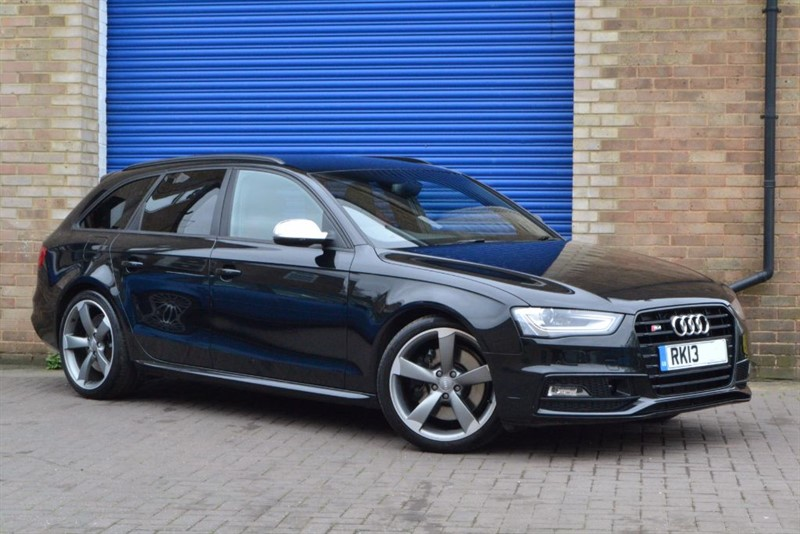 used Audi S4 Avant TFSI quattro 333PS Black Edition. Wanted for stock. in buckinghamshire