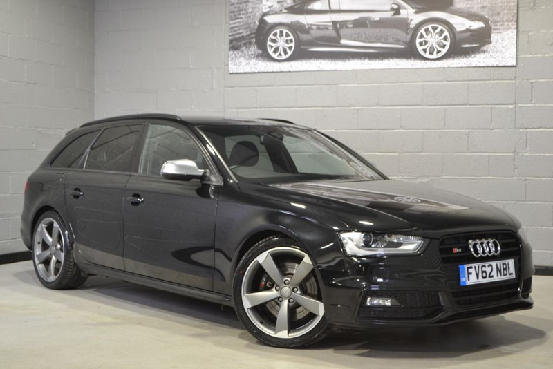 used Audi S4 Avant TFSI quattro 333PS Black Edition. Sport diff, Nav+, Memory seats in buckinghamshire