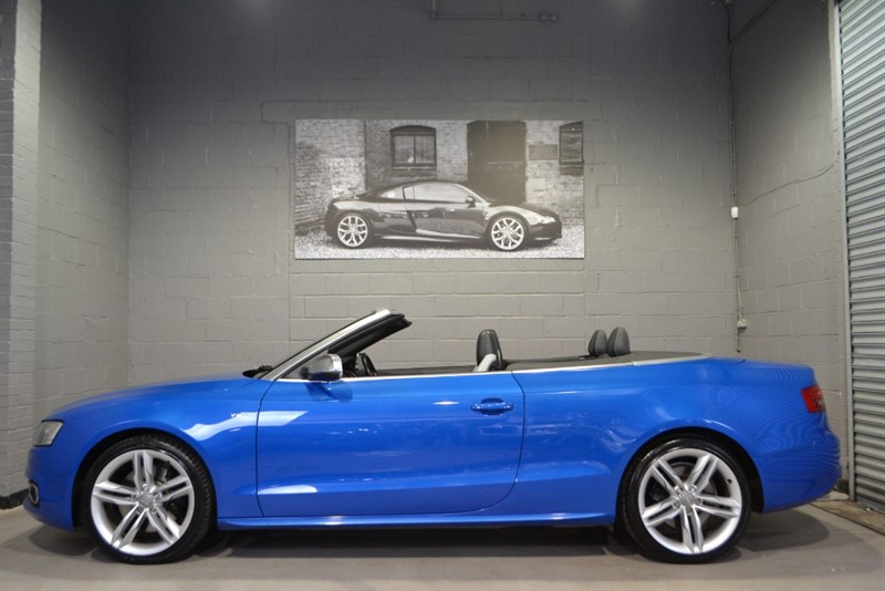 used Audi S5 Cabriolet TFSI quattro S Tronic, MMI Nav+, B&O, Memory seats in buckinghamshire