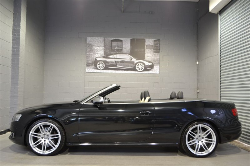 used Audi S5 Cabriolet TFSI quattro 333PS. Nav+ B+O 20s in buckinghamshire