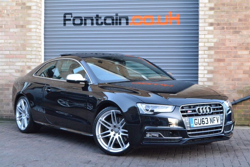 used Audi S5 TFSI quattro 333PS. Sunroof, B&O, 20s in buckinghamshire
