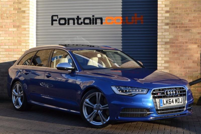 used Audi S6 Avant TFSI quattro 420PS. Sunroof, Keyless, BOSE, LED lights in buckinghamshire