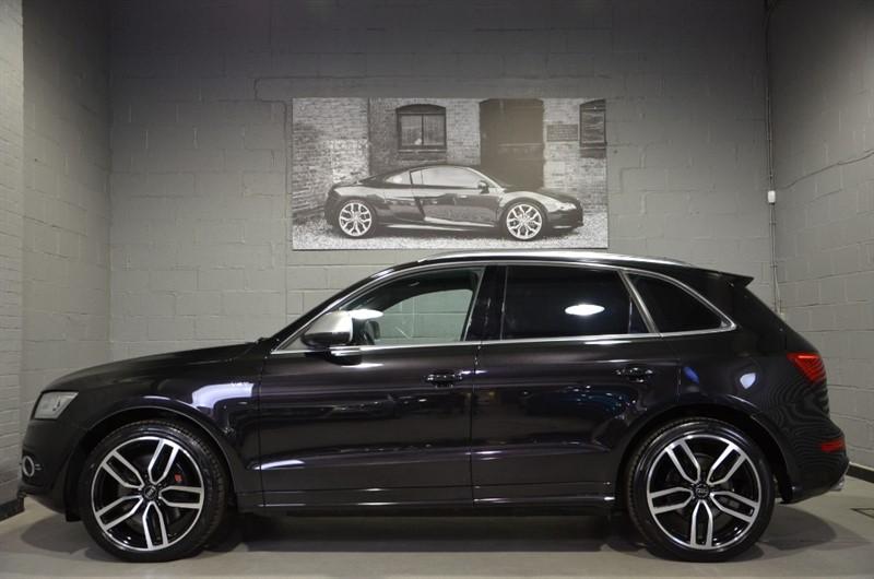 used Audi SQ5 BiTDI quattro 313PS. Panoramic sunroof, Camera, 21s in buckinghamshire