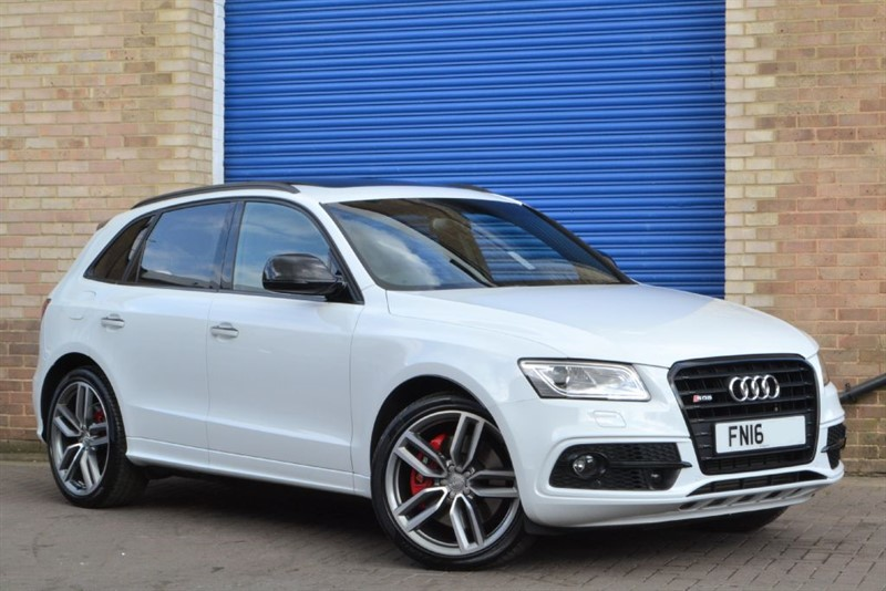 used Audi SQ5 340+ Plus BITDI quattro. Truly monumental spec! in buckinghamshire