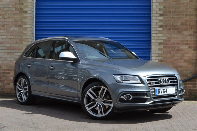 used Audi SQ5 BiTDI 313 quattro. Pan roof, camera, B&O in buckinghamshire