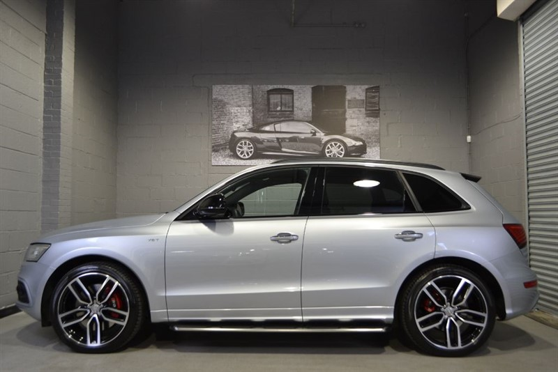 used Audi SQ5 Plus BiTDI quattro 340PS. Pan roof, Running boards, B+O in buckinghamshire