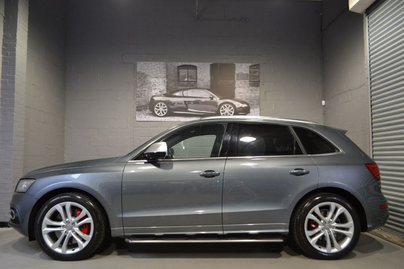 used Audi SQ5 BiTDI quattro 313. Pan roof, B+O, Side steps in buckinghamshire