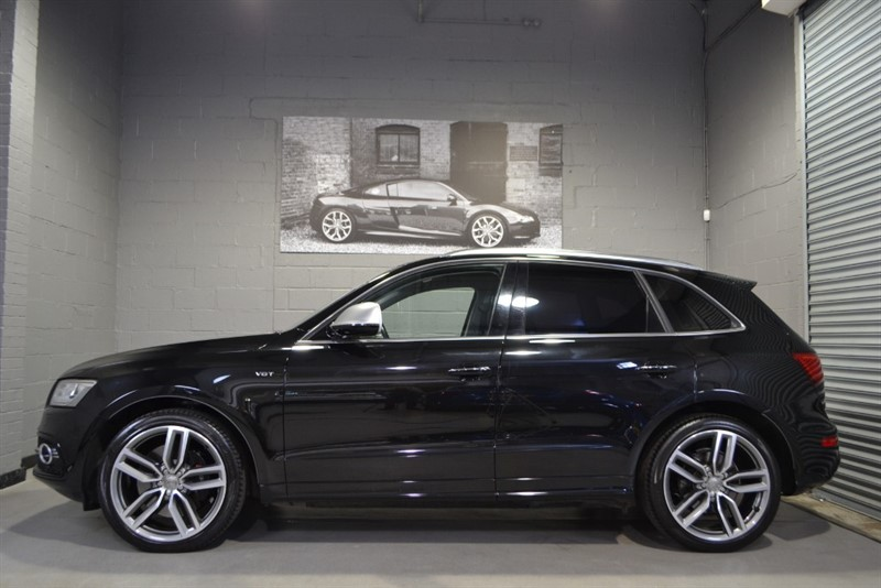 used Audi SQ5 BiTDI quattro 313PS. Lovely specification and warranted low mileage in buckinghamshire