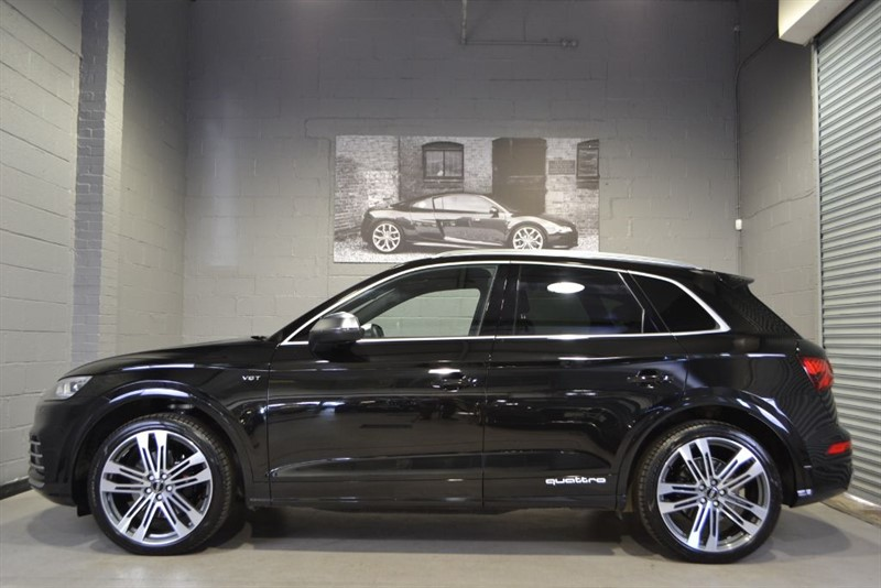 used Audi SQ5 TFSI quattro 354PS. Pan roof B+O Camera Virtual Cockpit in buckinghamshire